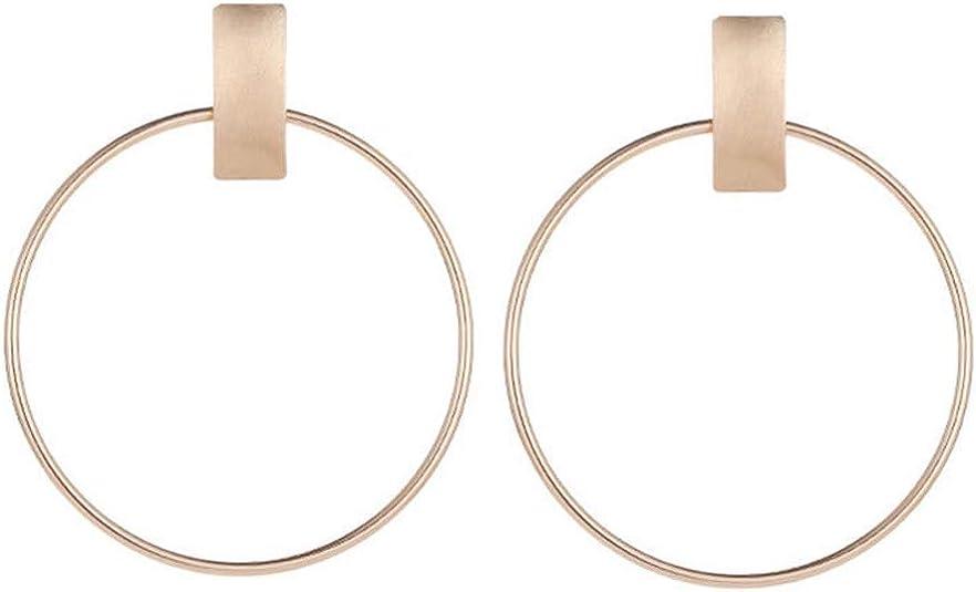 ***goldene dreieck//geometrische Ohrringe mit eine Perle Farbe Gold***NEU***