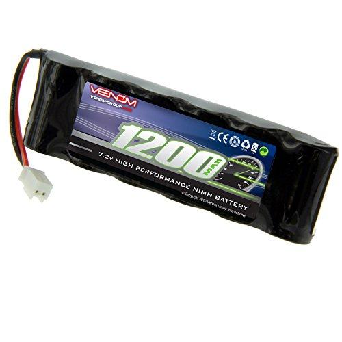 Venom 7.2v 1200mAh 6-Cell Flat NiMH Battery with Micro Molex Plug