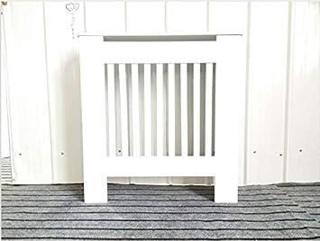 cm W Bianco D 82 Stile Chelsea x19 x78 H Legno 3 Misure in Legno MDF Verniciato Bianco Hedii Copritermosifone Moderno e alla Moda