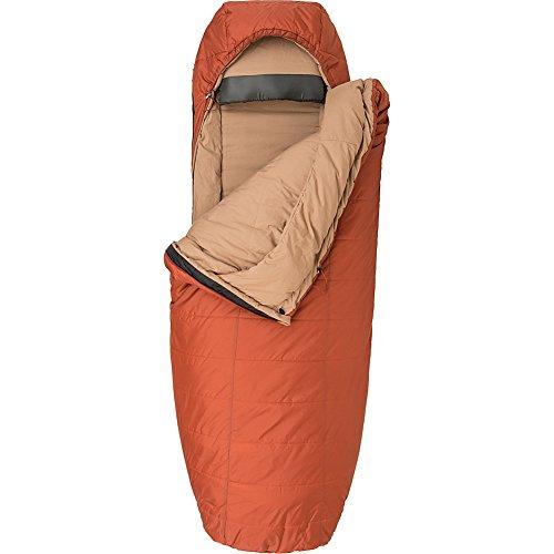 Big Agnes Hog Park 20 Thermolite Extra Sleeping Bag, Wide Long, Spice