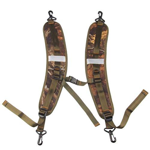 Float Tube Backpack Straps - WINOMO Replacement Shoulder Straps Adjustable Belt for Shoulder Bag Backpack Quick Release