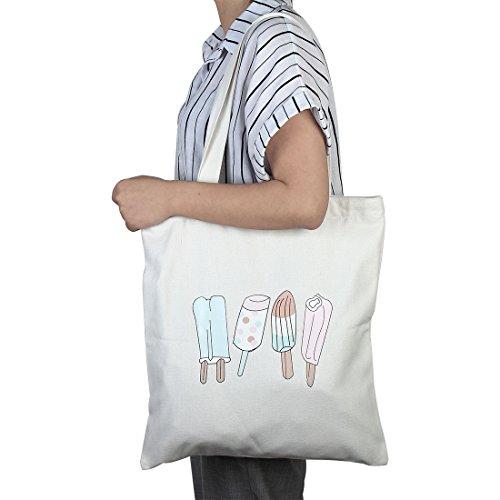 Zaini 1 Sourcing Casuale Di Cerniera Prenotare Tasca Spalla Con Snack Shopping Bag Sacchetto Mappa wTqOC