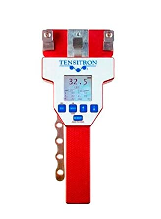 Tensitron ACX-100-1 Digital Aircraft Cable Tension Meter 5-100 lbs for 1/16 in, 3/32 in, 1/8 in, 5/32 in Cables