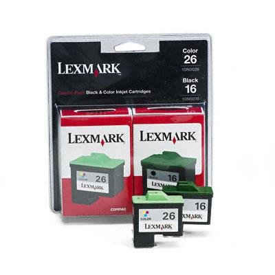 LEX10N0595 - Lexmark Twin Pack Color Ink Cartridge