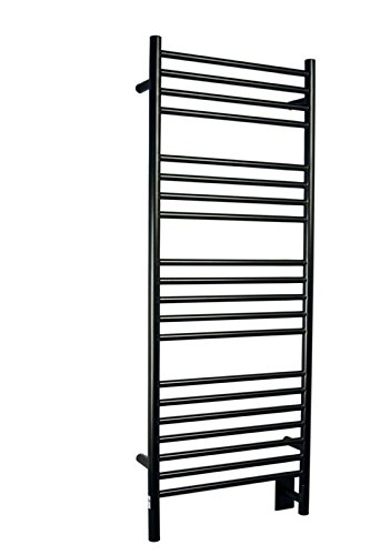 Jeeves Wall Mount Electric D Straight Towel Warmer Finish: Oil Rubbed Bronze