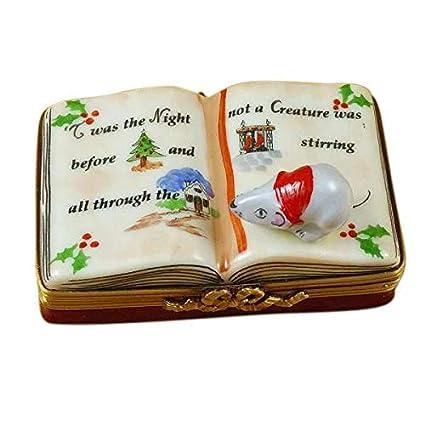 Amazon.com: Twas la noche antes de Navidad libro – limoges ...