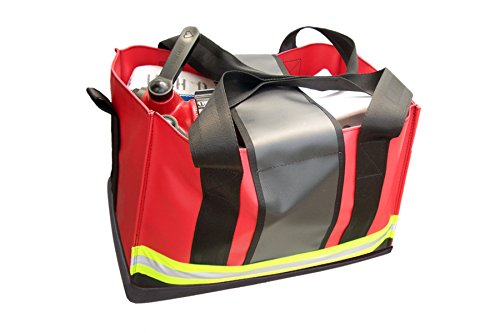 R B Fabrications M S-AB Reinforced Vinyl Milwaukee Strap Hose and Accessory Bag, 13 Length x 18 Wide x 13 Height, 18 oz.