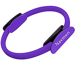 Well-Being-Matters 41qTVZdJQeL._SS300_ navmen Pilates Ring Yoga Fitness Magic Circle Full Body Toning Fitness Body Ring Training- Leg, Inner Thigh, Arm Workout…
