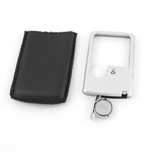 uxcell Illuminated Pocket Magnifier Magnifying