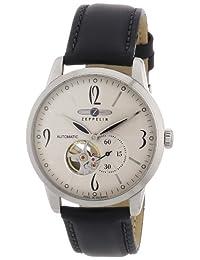 Graf Zeppelin Flatline Automatic Open Heart Watch 7360-4