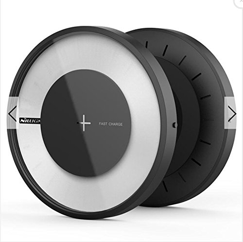 Price comparison product image NILLKIN Magic Disk 4 Fast Qi Wireless Charger for Samsung Galaxy S8 S8 Plus S7 S7 Edge