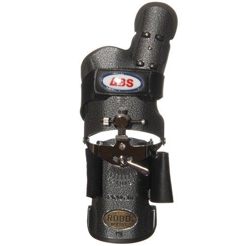 アメリカン ボウリング サービス ロボリスト 左用 ブラックシルバー BK/SI レギュラー