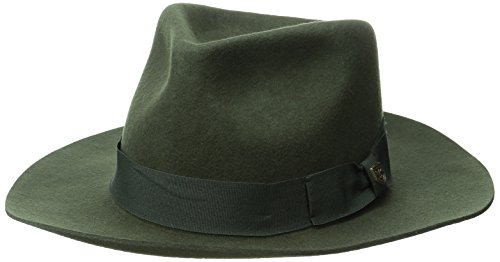 bda585e8d1c6b Brixton Men s Lopez Fedora Hat