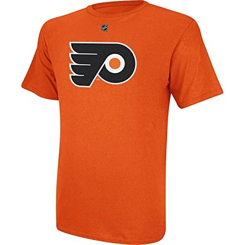 2b13da820 durable modeling Philadelphia Flyers Reebok NHL Claude Giroux  28 Player  Name And Number T-