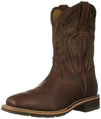 Ariat Men's Hybrid Rancher H2O 400G Western Boot, Sunshine, 9 D US