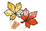 HAOSUM Stained Glass Ornament Window Hanging Pack
