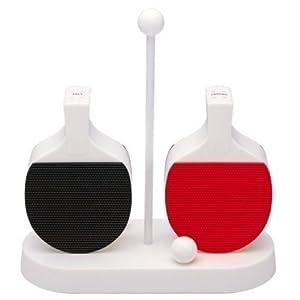 VENKON - 2-teiliger Streuer Set für Salz und Pfeffer in Tischtennis-Schläger...