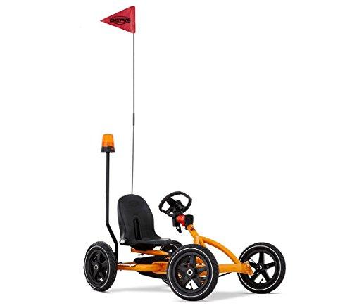 BERG Pedal Cars For Kids Buddy Orange Safety Kit, Helps Children Ride Safe