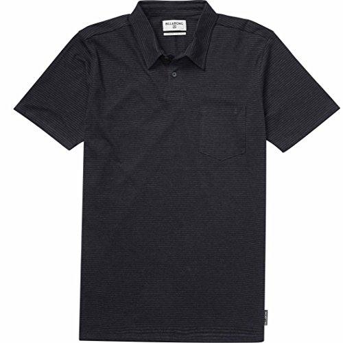 Standard Issue Polo, Black Heather, S (Billabong Boys Clothing)