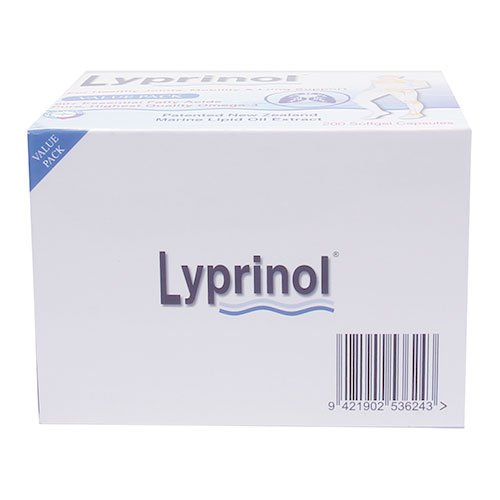 Pharma Lyprinol® Pcso-524® 200 Capsules New Zealand Green Lipped Mussel Extract Oil Joint Health Support & Mobility by Lyprinol (Image #2)