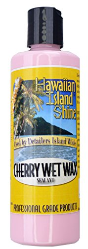 HAWAIIAN ISLAND SHINE CHERRY WET WAX SEALANT 8 oz BOTTLE # 8502