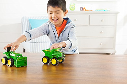 John Deere Sandbox Vehicle 2pk, Truck and Tractor by TOMY (Image #3)