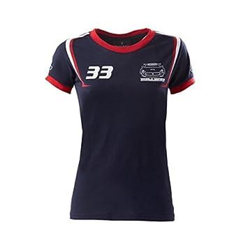 Amazon.com: Maserati Trofeo 14 Ladies Equipo Tee Camisa ...