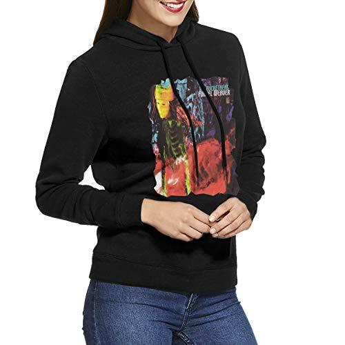 (Kangtians RHZTPYRDE Buckethead Funnel Weaver Women's Hooded Sweatshirt Black)