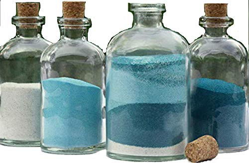 24pk Decanter Sand Ceremony Set - Blank 4-Piece-Unity Candles & Stands