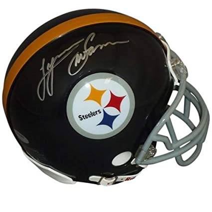 a4b20d9c4 Lynn Swann Autographed Signed Auto Pittsburgh Steelers Mini Helmet -  Certified Authentic