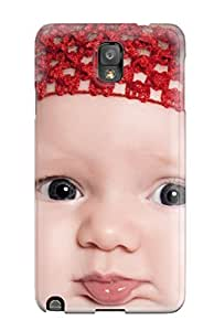 New Arrival Case Cover With WNqmcLC765QNcMx Design For Galaxy Note 3- Super Cute Little Baby