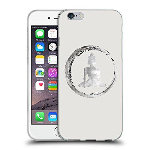 GoGoMobile Coque de Protection TPU Silicone Case pour // Q10020631 Bouddha assis 13 Platine // Apple iPhone 7