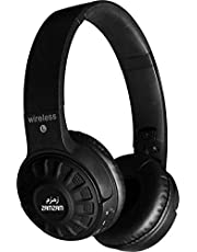 On-Ear Lightweight Headphones Wireless Bluetooth Headset with Built in Microphone, Handling Phone Calls Compatible with iPad iPhone TV Laptop Computer Headphones (Black)