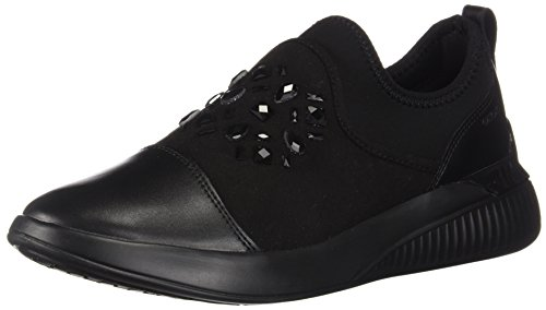 Theragon C9999 A Baskets Femme Enfiler Noir D black Geox 5qvxOO