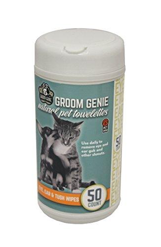 Multipet-68501-50-Count-Groom-Genie-Sensitive-Clean-Pet-Wipes-Tube