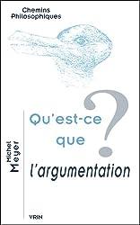 Qu'est-ce que l'argumentation ?