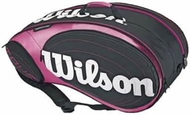 Wilson - Paletero pádel tour padel bag, color rosa: Amazon.es ...