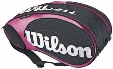 Wilson - Paletero pádel tour padel bag, color rosa: Amazon ...