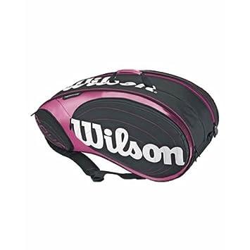 Wilson - Paletero pádel tour padel bag, color rosa: Amazon.es: Deportes y aire libre