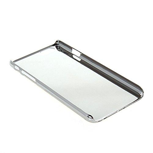 MOONCASE Chrome Bling Hard Shell Cover Housse Coque Etui Case Pour Apple iPhone 6 (4.7 inch) Noir