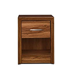 HomeTown Stark Night Stand (Walnut)