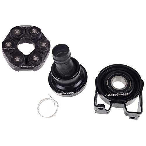 riveshaft Center Support Bearing propeller shaft Flex Disk Kit OEM design 03-10 ()