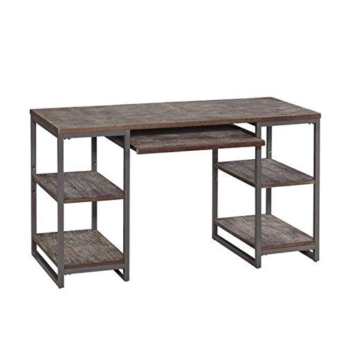 Home Styles 5053-15 Barnside Metro Pedestal Desk, Gray (Metro Metal Desk)