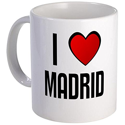 (CafePress - I LOVE MADRID Mug - Unique Coffee Mug, Coffee Cup)