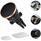 Magnetic Car Mount Universal Air Vent Magnetic Phone Car Mounts Holder Car Cell Phone Mount Holder For iPhone X 8 7 Plus 6S 6 5s 5, Samsung Galaxy S9 S8 S7 S6, LG, Note 8 5 4, Mini Tablet And More
