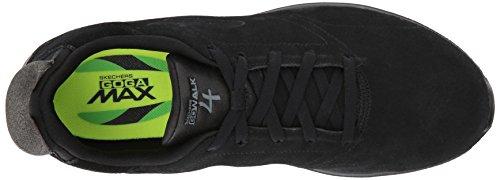 Femme Skechers Walk Black Running Noir Chaussures 4 de Go HYgwqH