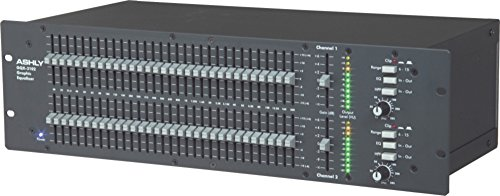 Ashly GQX-3102 2 Channel 1/3 Octave Graphic Equalizer by Ashly (Image #2)