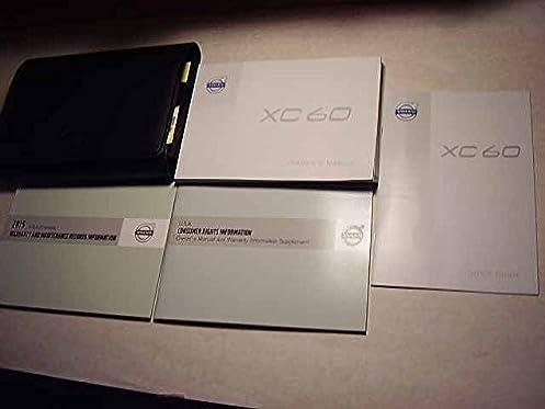 2015 volvo xc60 owners manual volvo amazon com books rh amazon com xc60 owner's manual uk 2016 xc60 owner's manual