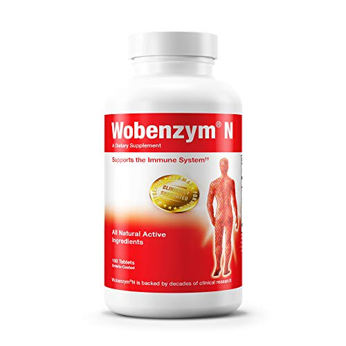 Wobenzym - Wobenzym N - Authentic German Formula Designed to Promote Healthy Joints and Muscles* - 100 Tablets