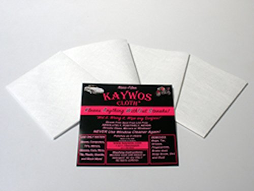 Zezo Fiber Miracle Cleaning and Polishing Cloth By Kaywos (100) by Kaywos